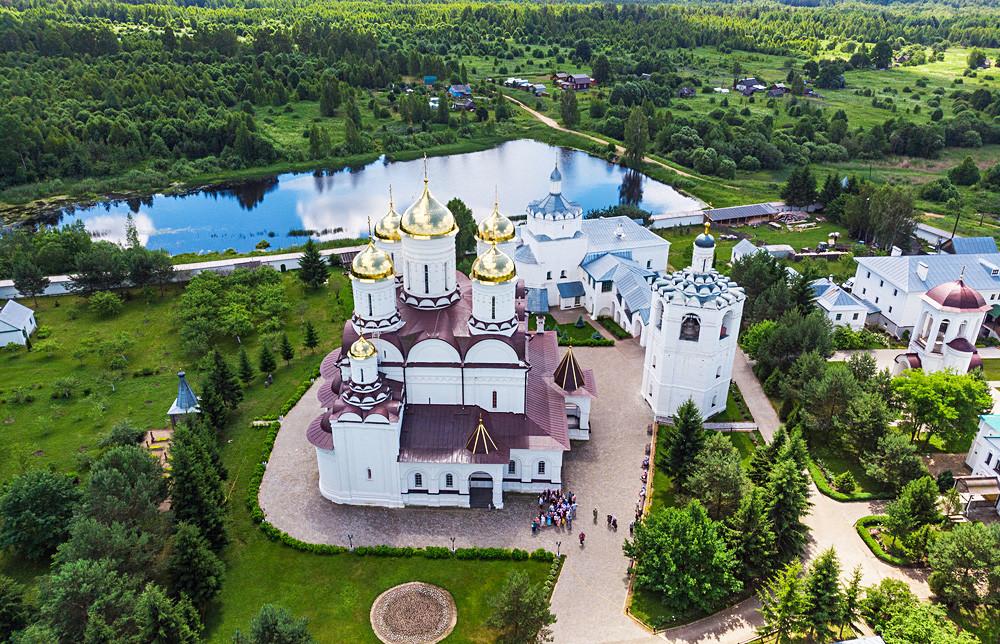 Monastère de la Sainte-Trinité-de-Boldine, région de Smolensk