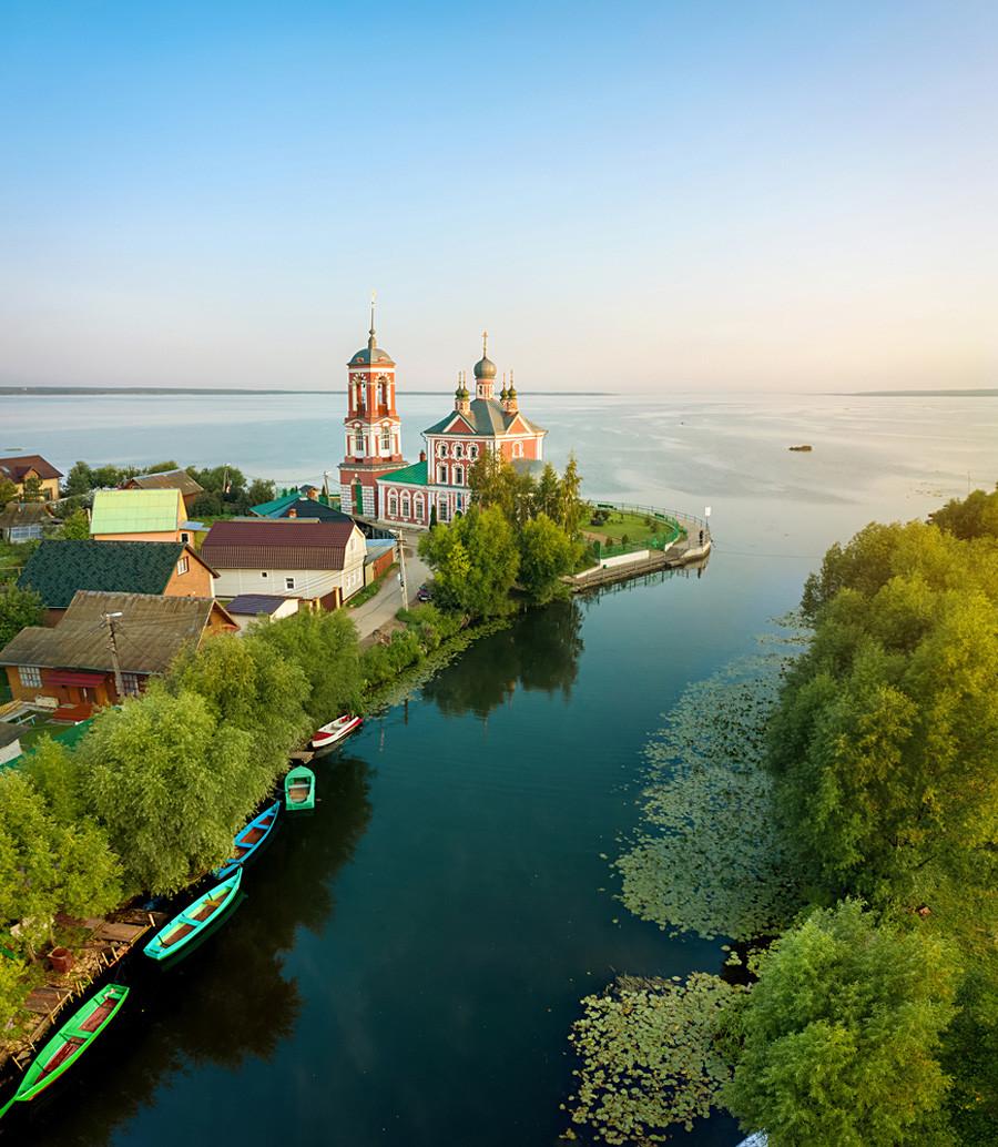 Église des Quarante martyrs de Sébaste, Pereslavl-Zalesski, région de Iaroslavl