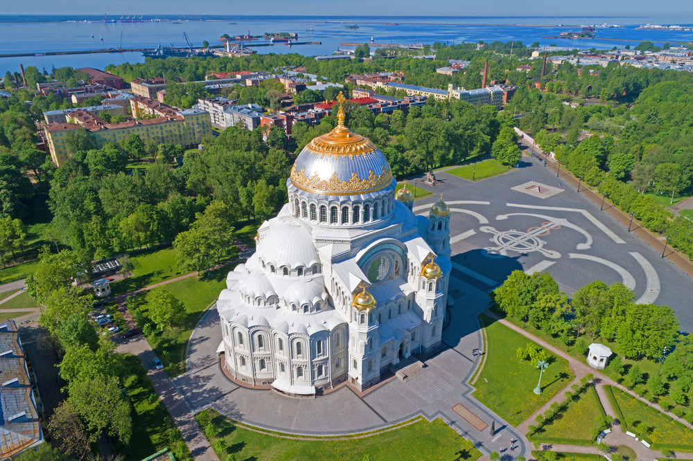 Cathédrale navale de Kronstadt, Saint-Pétersbourg
