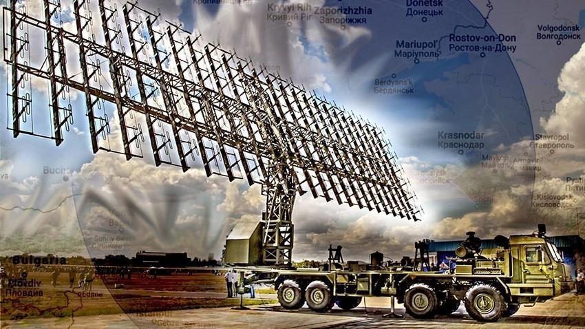 """Радарски систем со голем опсег 55Ж6М """"Небо-М"""""""