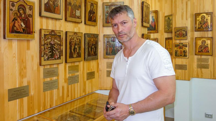 Der ehemalige Bürgermeister von Jekaterinburg Jewgeni Roisman
