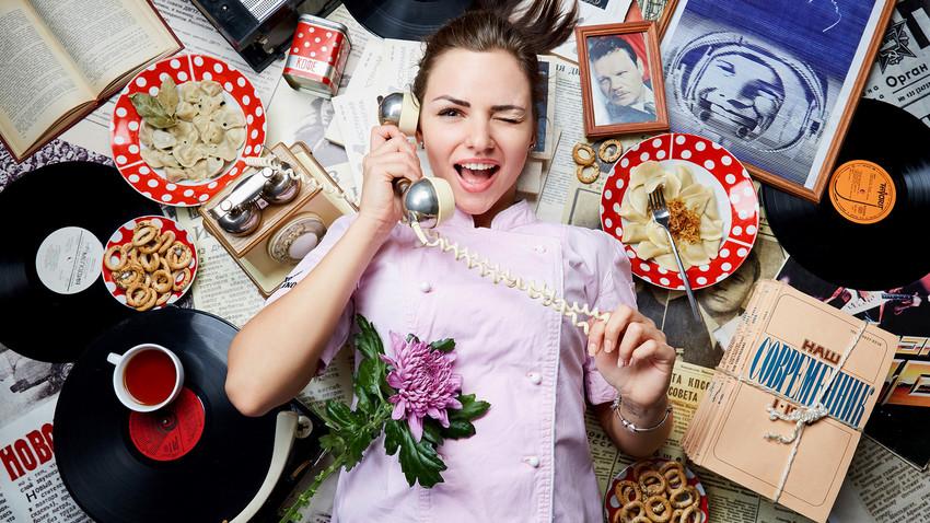 Alena Solodovichenko, brand chef at Varenichnaya N1 cafes in Moscow