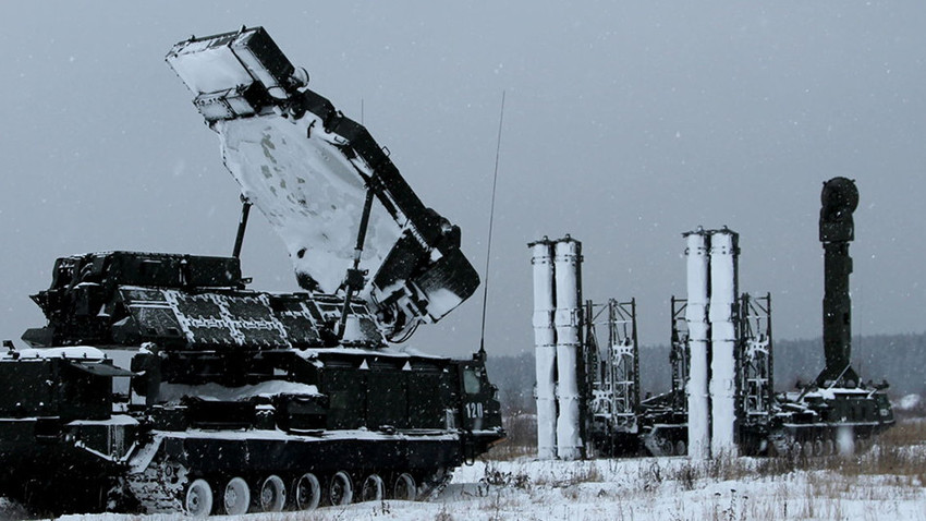 С-300ВМ на северу Русије