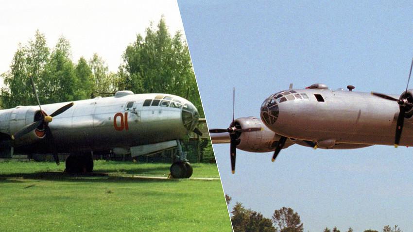 Tupoljev Tu-4 in B-29 Superfortress