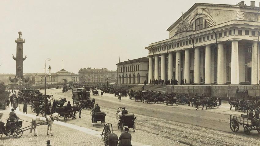 Burza. 1900-te