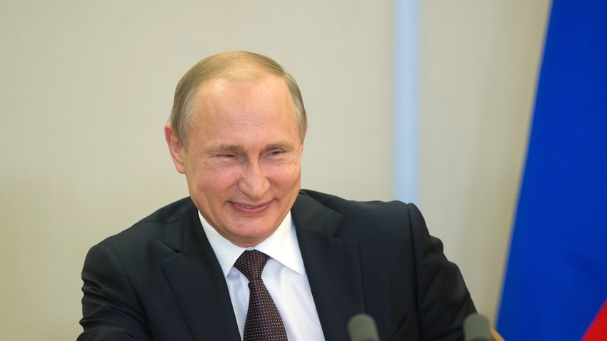 Putins Kürzeste Rede