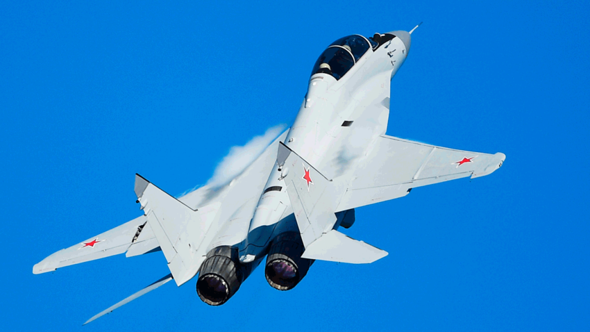 MiG-29 ruso.