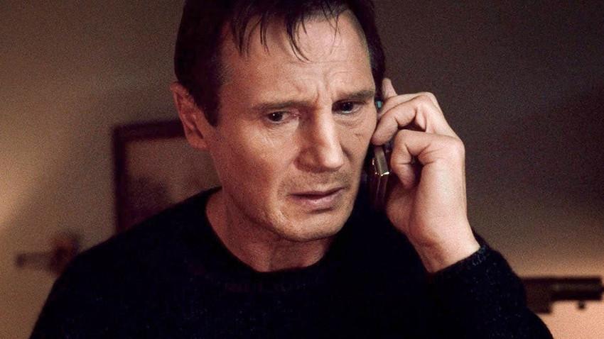 Liam Neeson dalam film 'Taken' (2008)