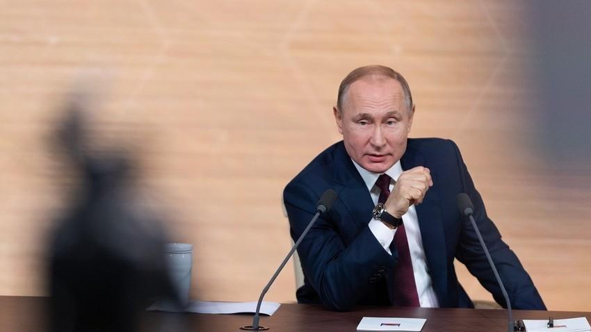 Image result for putin na press konferenciji