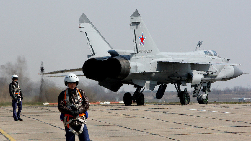 Ловец-пресретнувач МиГ-31БМ