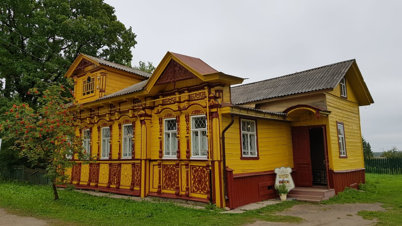 Rumah kayu Rusia
