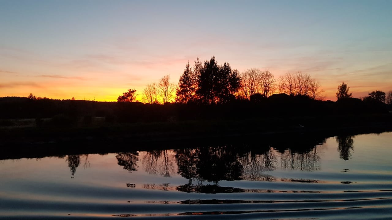 Senja yang tenang