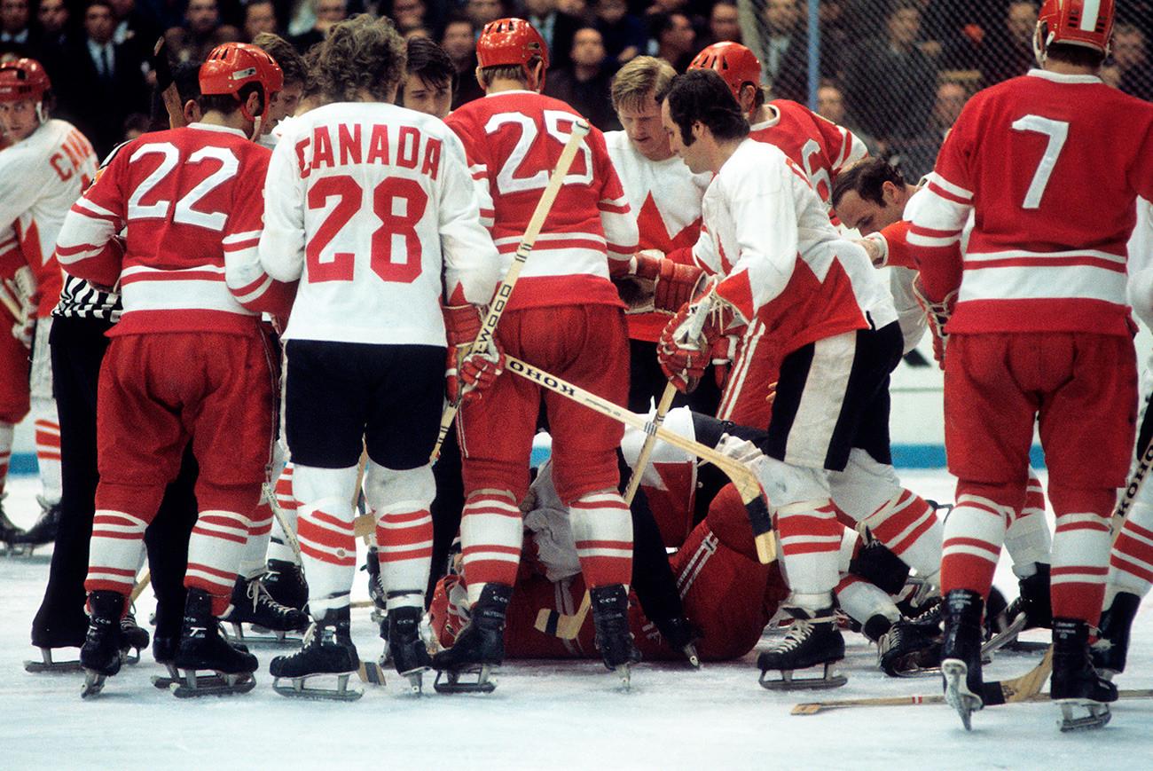 Суперсериите в Канада, 1972 г.: Канада срещу Съветския съюз