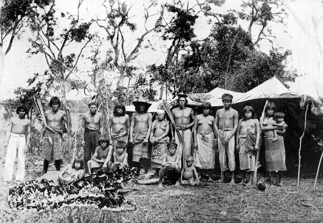 The Maká people of Paraguay.