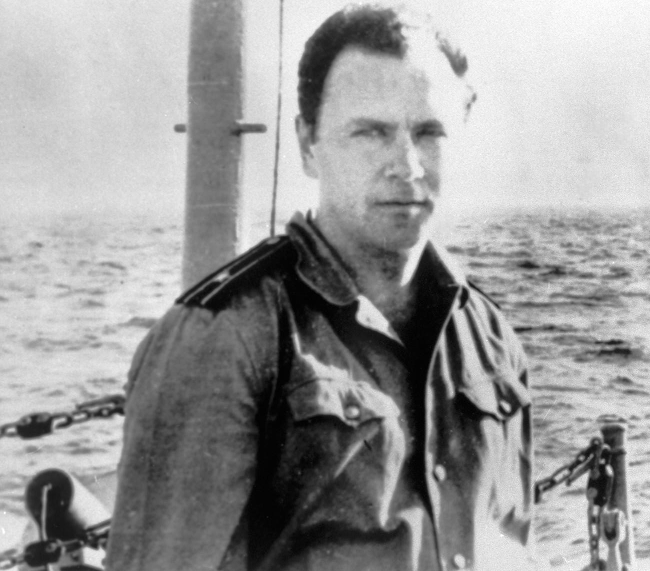 三等大尉のワレリー・サブリン