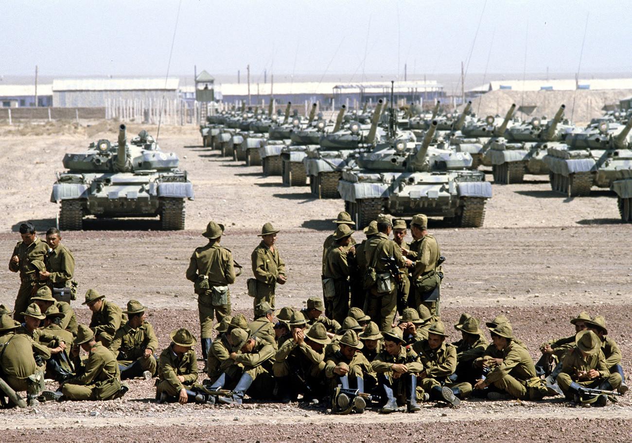 Gardijski tankovski polk v Afganistanu