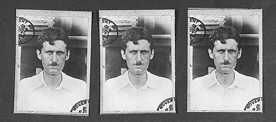 ロンドン警視庁に保存されているジョージ・オーウェルのファイル
