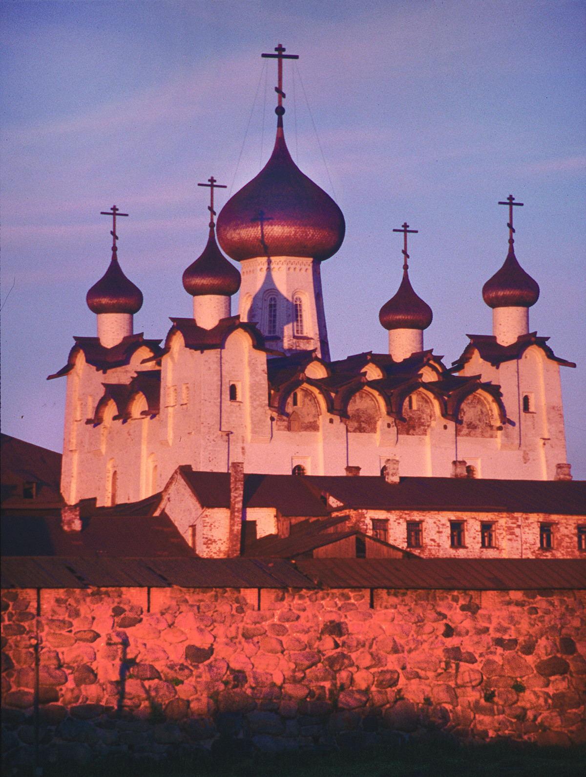 Transfiguration Monastery. Transfiguration Cathedral in