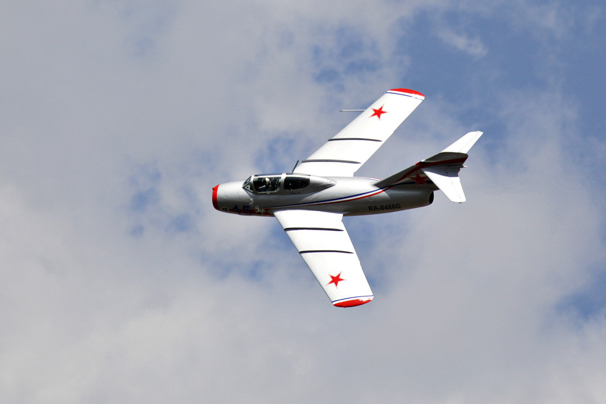 Млазен ловец МиГ-15,