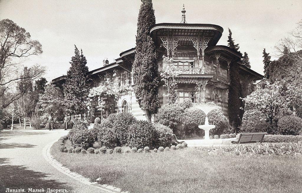 Petit palais de Livadia en Crimée