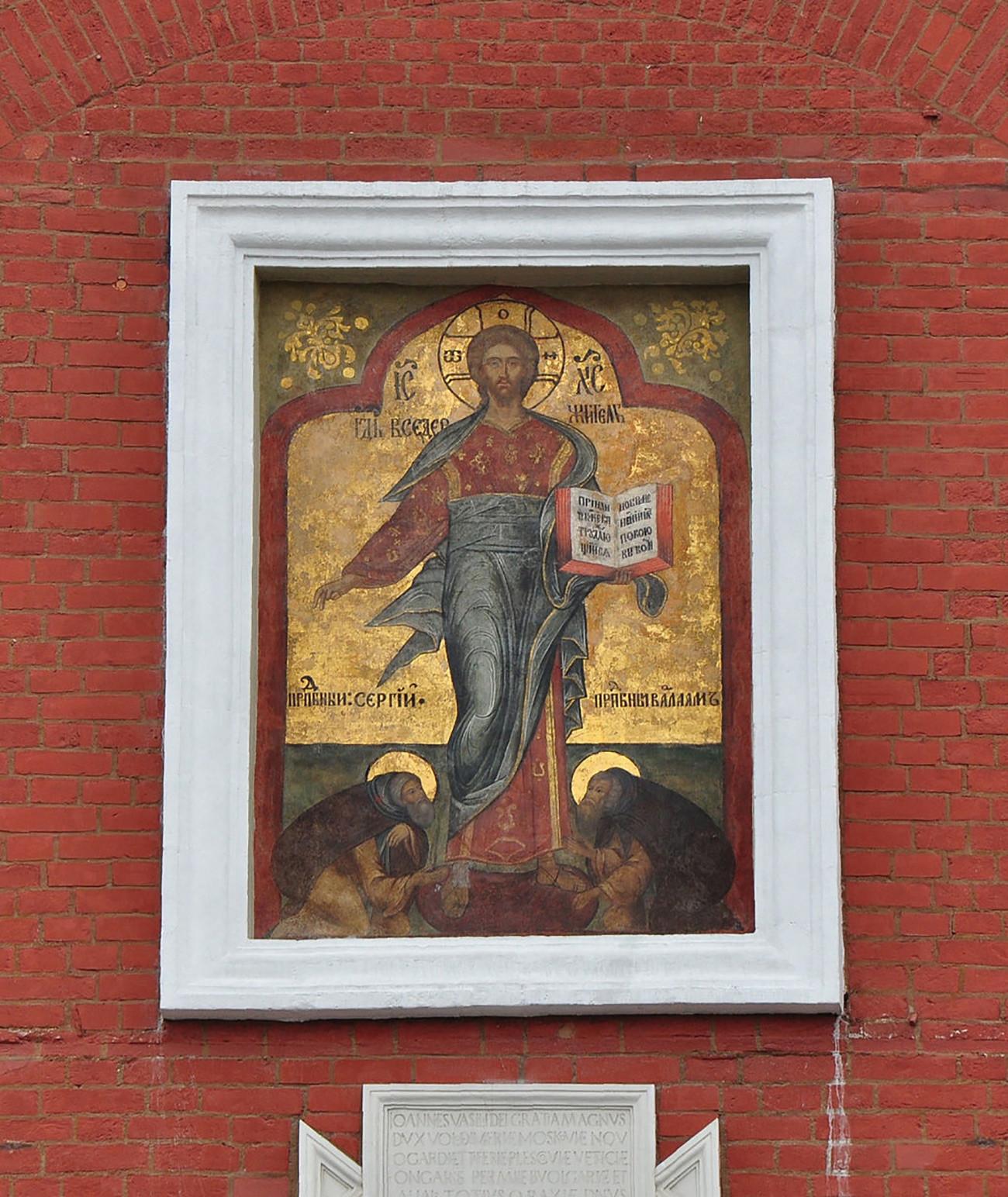 Спаска кула. Рестаурирана икона Спаса Смоленског, 2010.