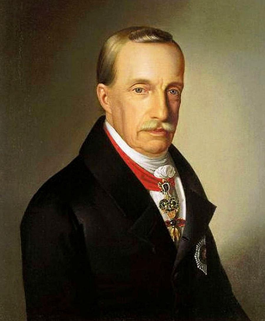 Habsburg-Lotharingiai József Antal János (1776-1847) by Miklós Barabás