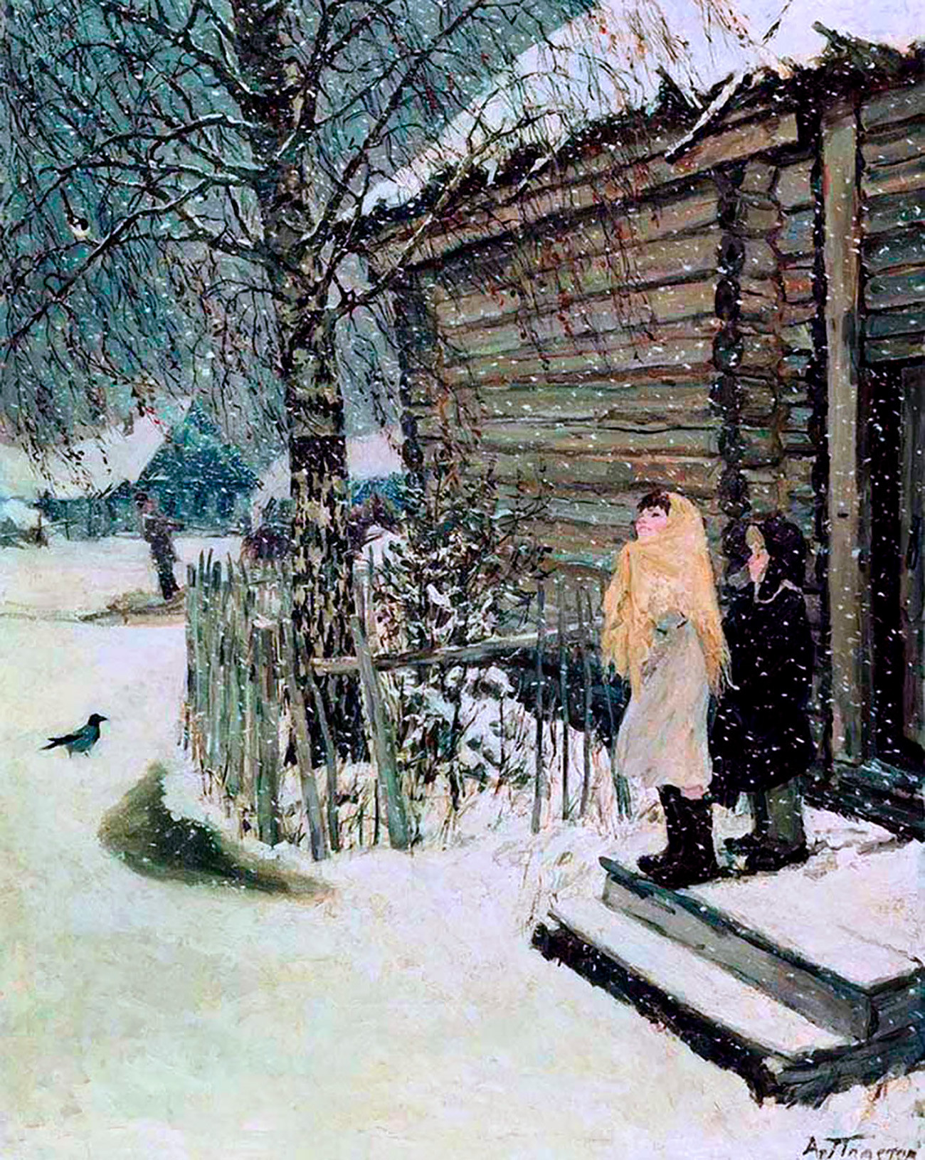Winter In Russian Paintings Russia Beyond