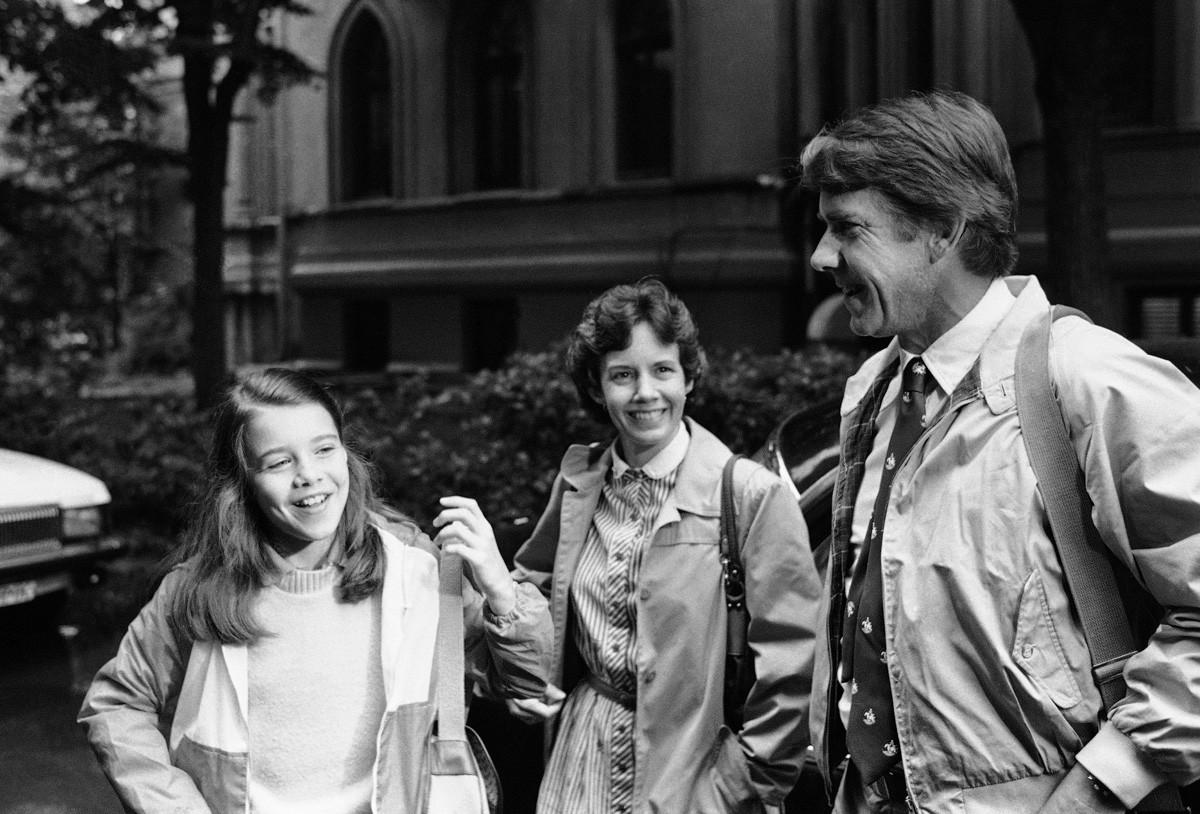 Samantha et ses parents, Jane et Arthur Smith