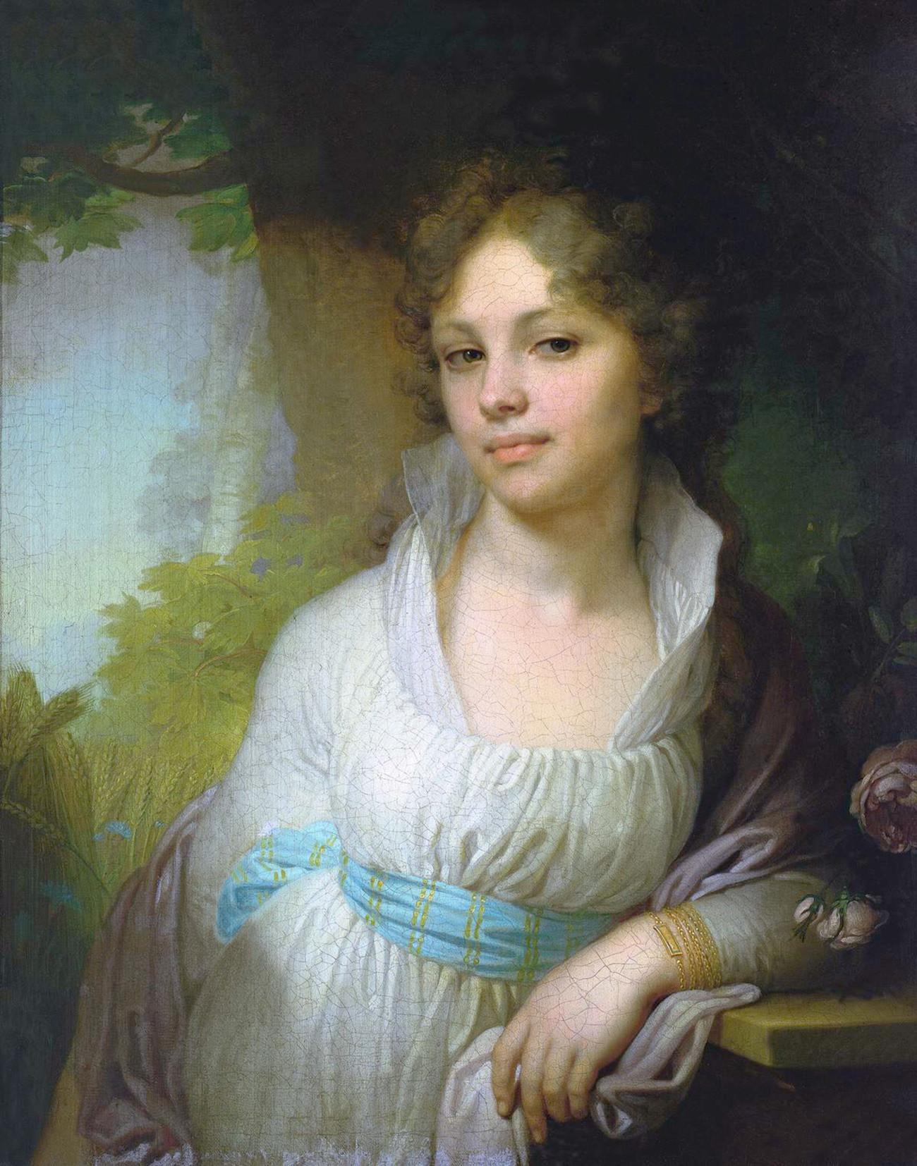 Portrait de Maria Lopoukhina, 1797