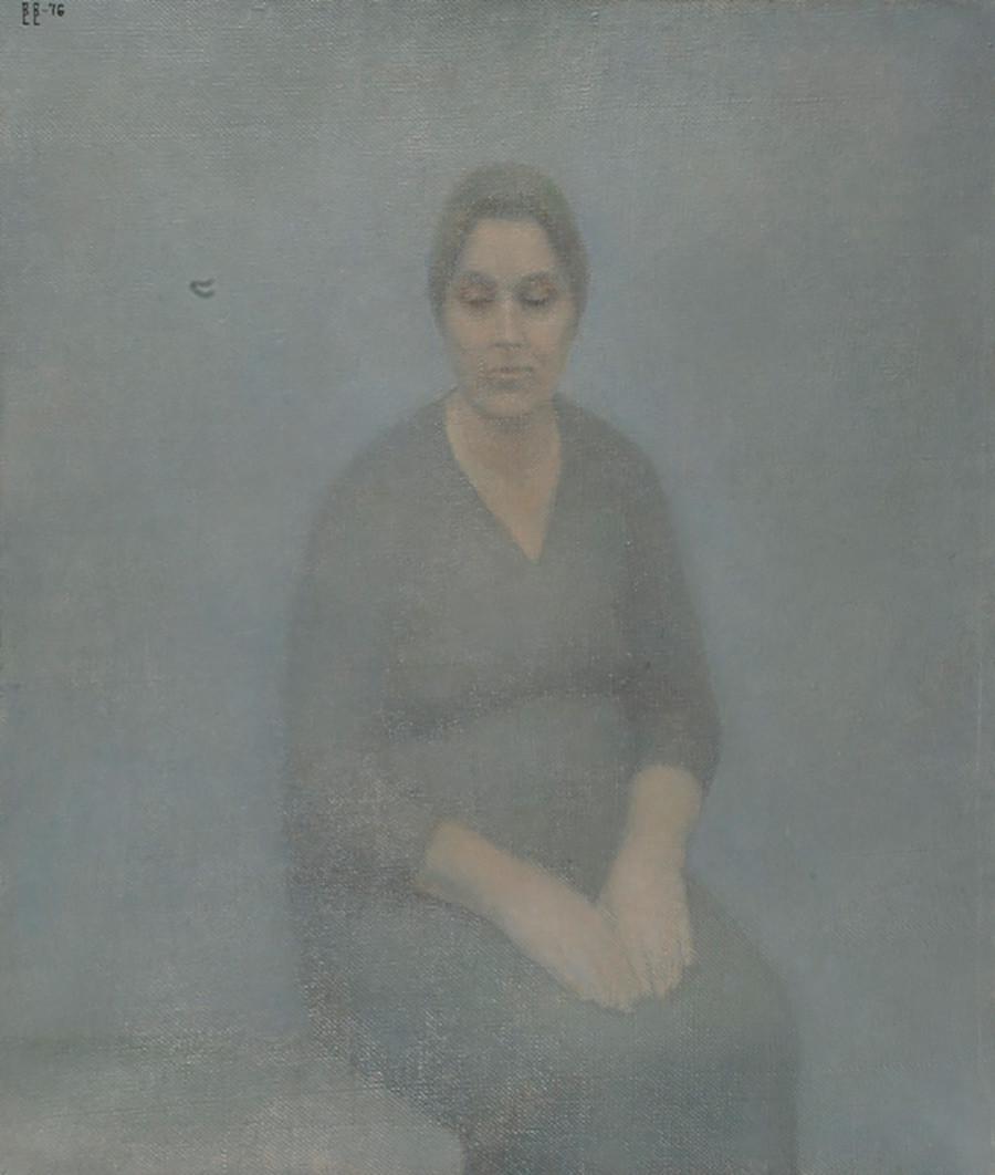 « Portrait de la femme de l'artiste », 1976