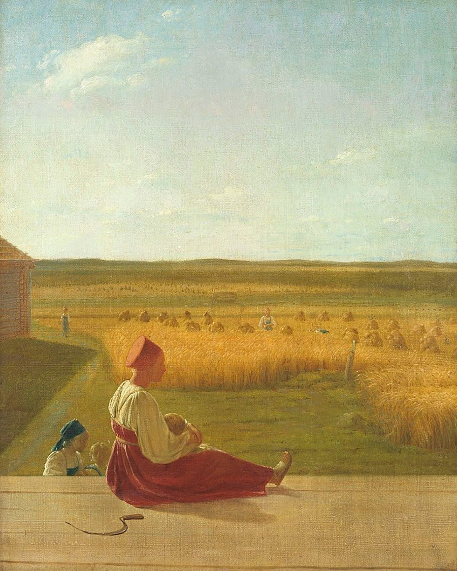 « Moisson en été », 1830