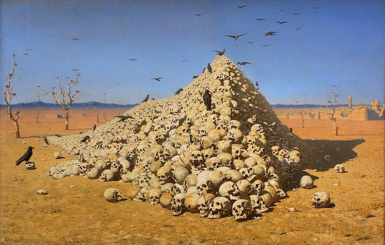 « L'Apothéose de la guerre », 1871