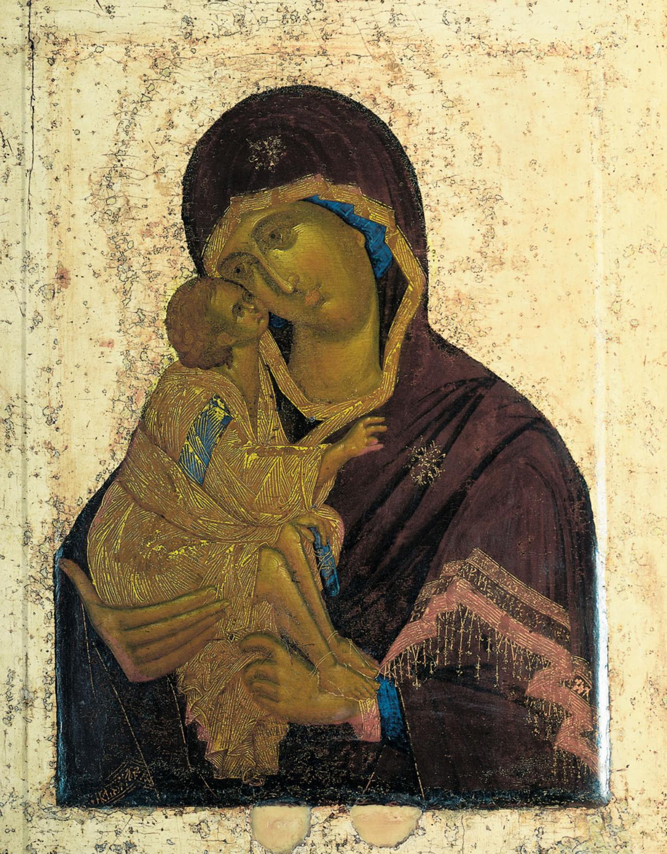 « La Vierge du Don », 1380
