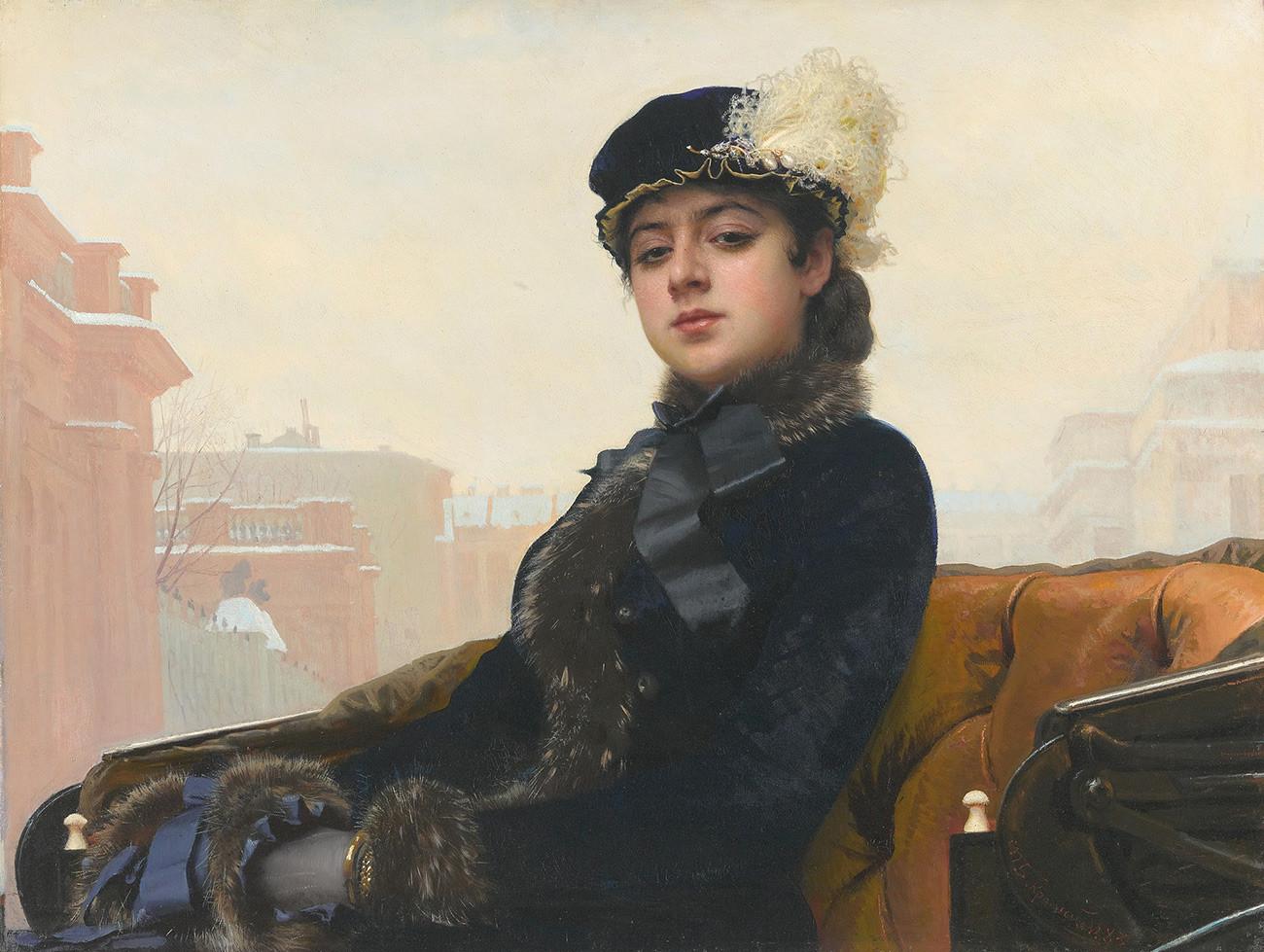 « L'Inconnue », 1883