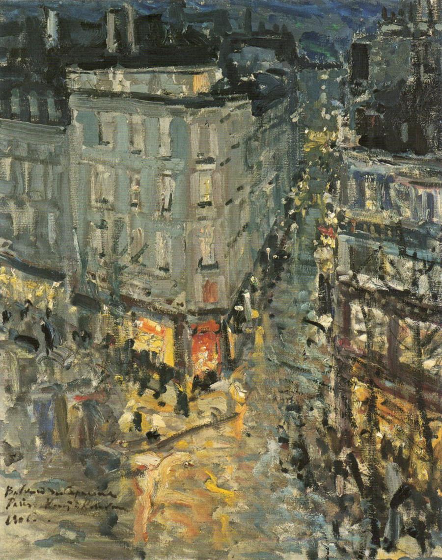 « Paris. Boulevard des Capucines », 1906