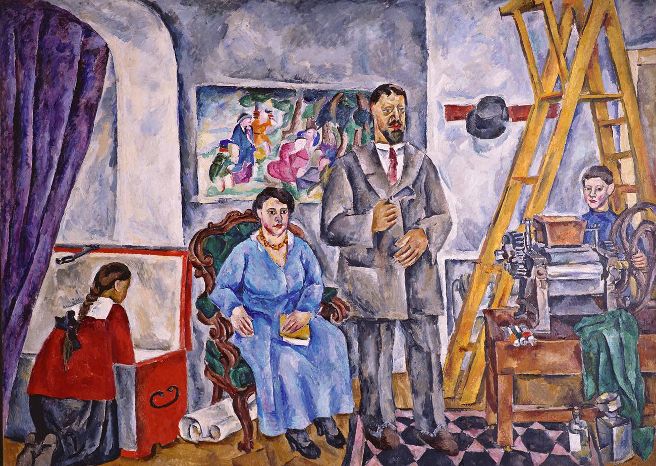 « Portrait de famille », 1911