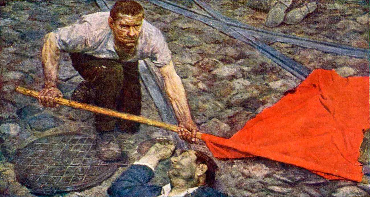 « Le Drapeau », 1960