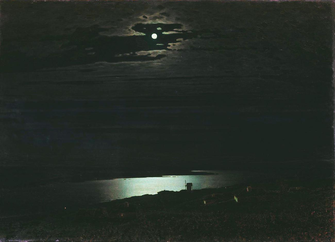 « Clair de lune sur le Dniepr », 1880