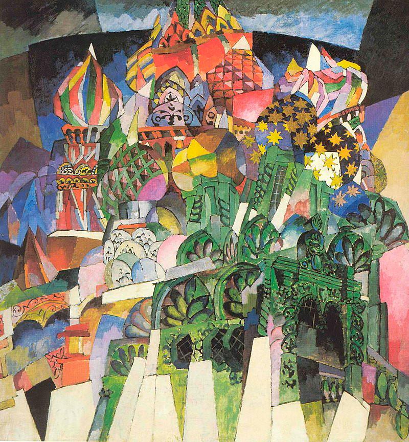 « La cathédrale Basile-le Bienheureux », 1913