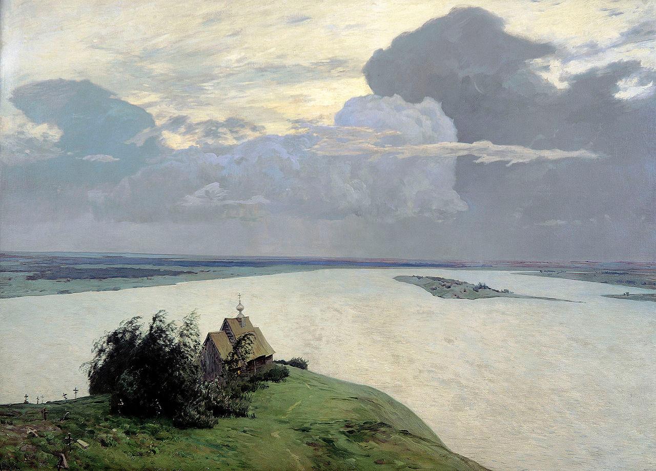 « Au-dessus de la paix éternelle », 1894