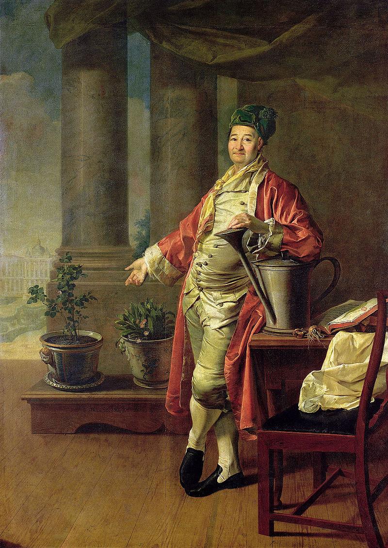 « Portrait deProkofi Demidov », 1773