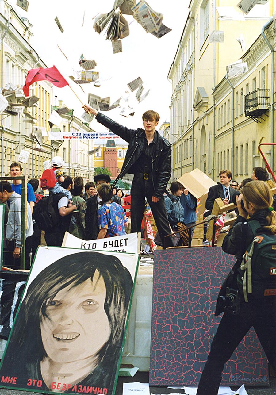 « Barricades », 1998