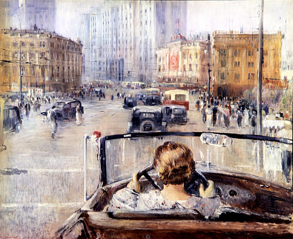 « La Nouvelle Moscou », 1937