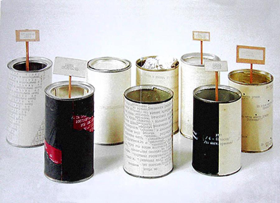 Projet « Conserves », 1975