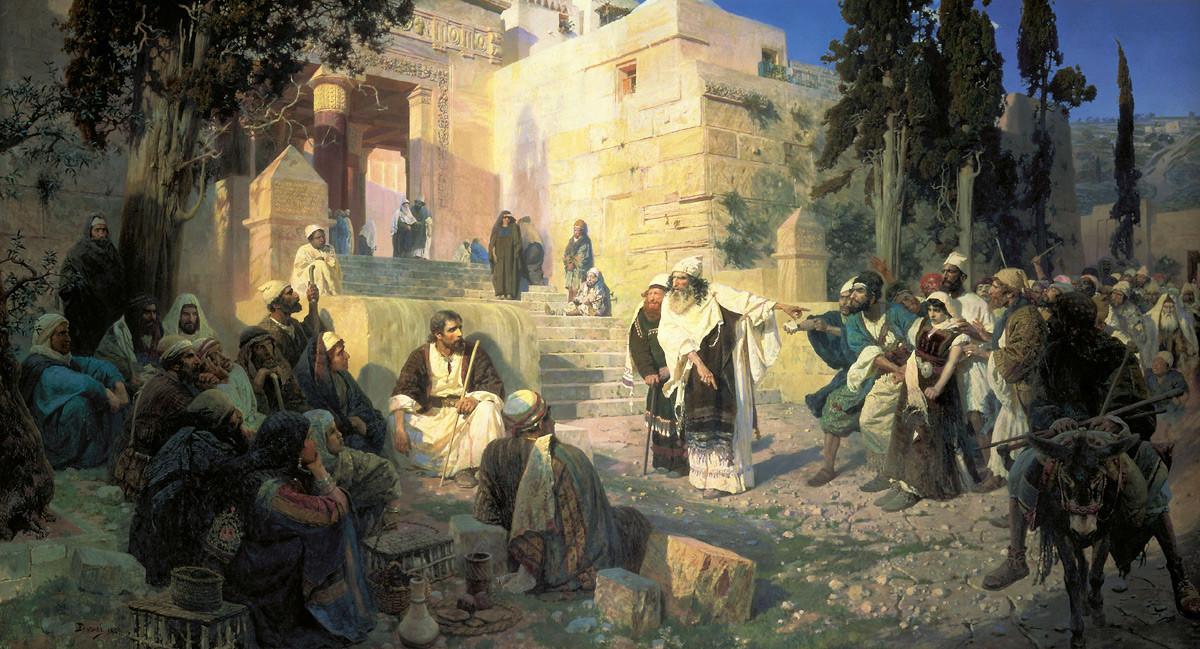 « Le Christ et la Pécheresse », 1888