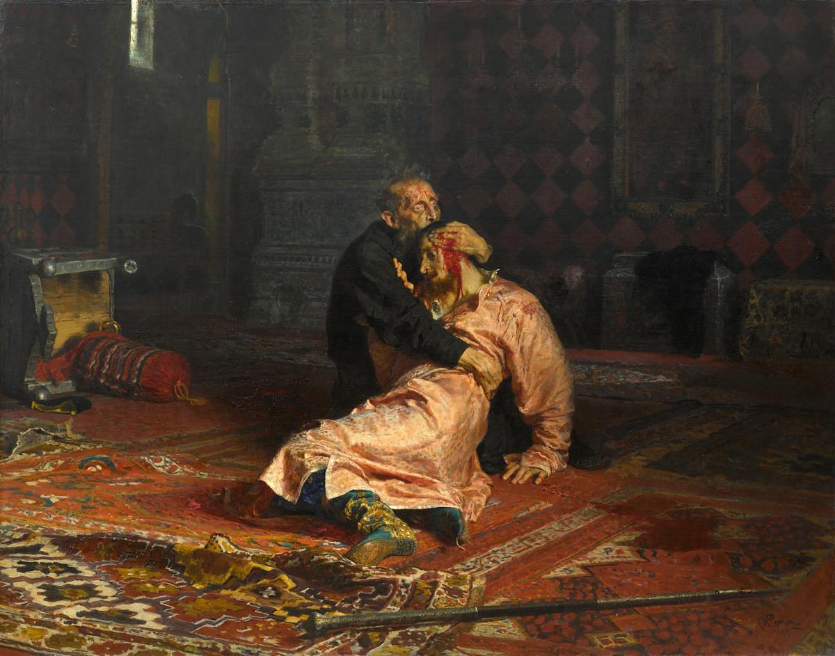 « Ivan le Terrible et son Fils Ivan », 1885