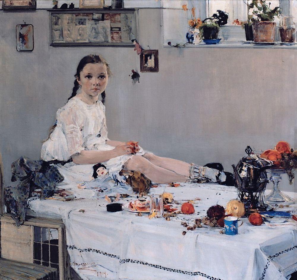 Portrait de Varia Adoratskaïa, 1914