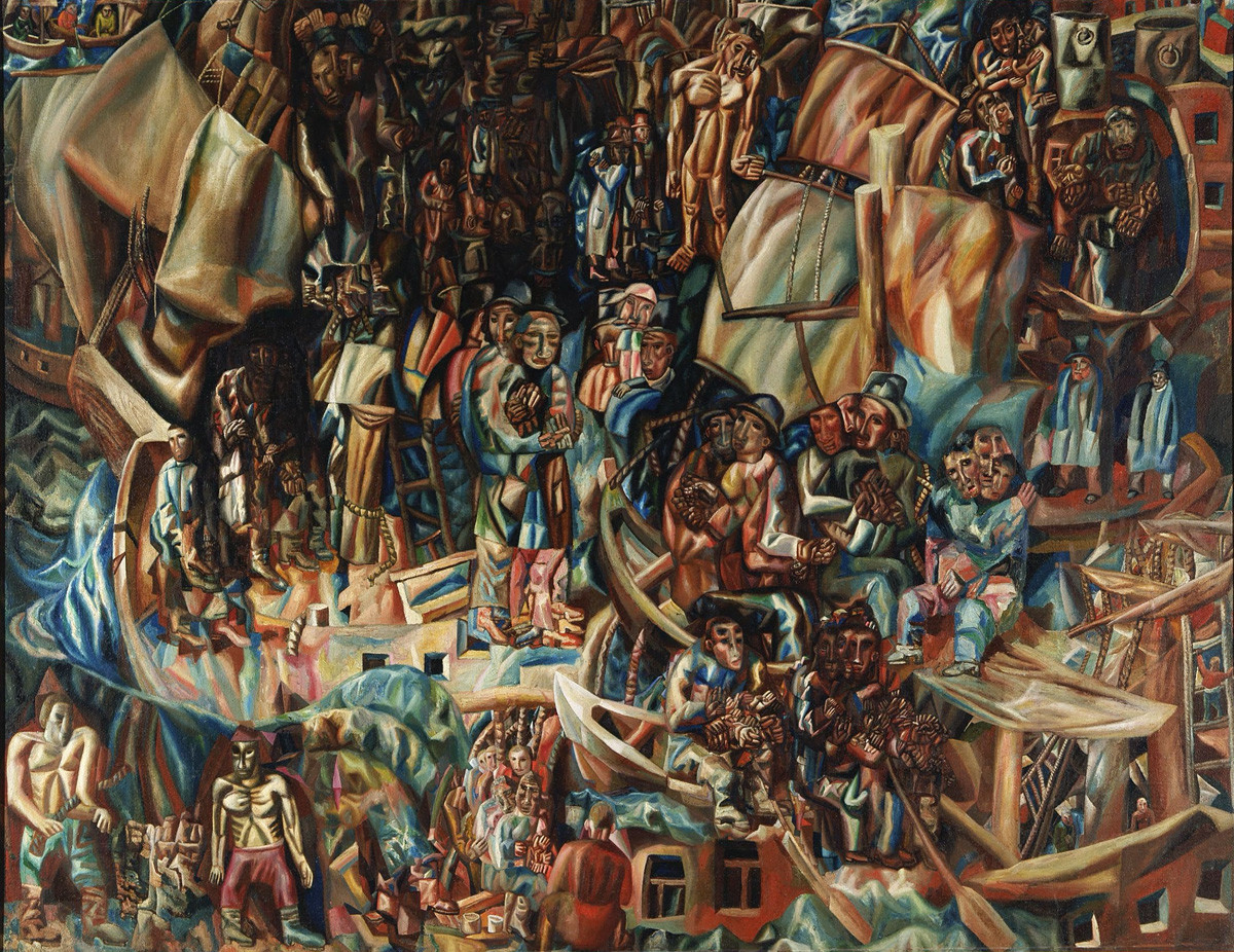 « Navires », 1913-1915