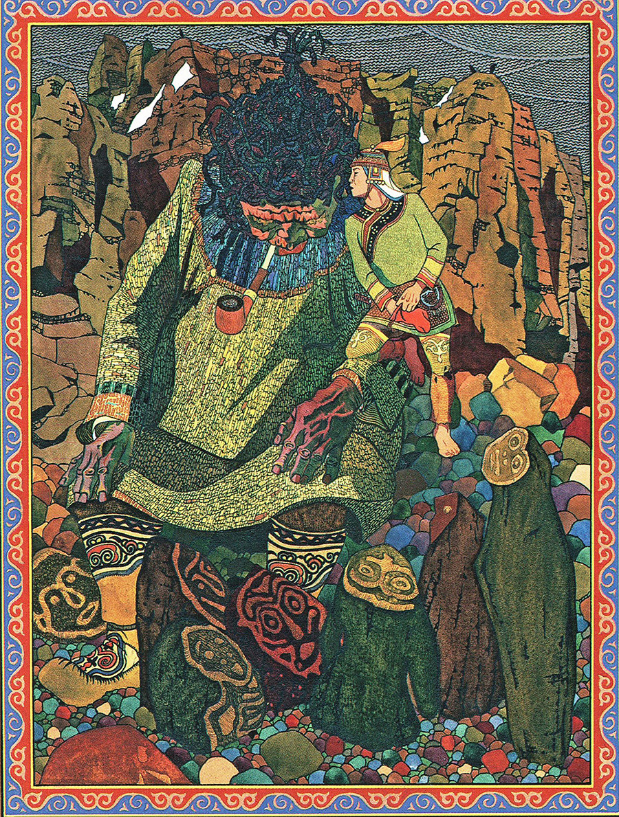 Какзаму из книги «Амурские сказки»