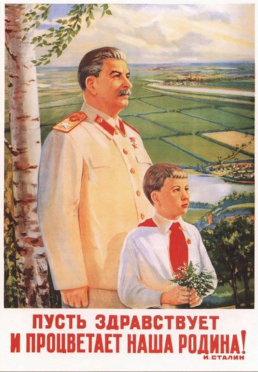 Que vive et prospère notre Patrie ! Joseph Staline